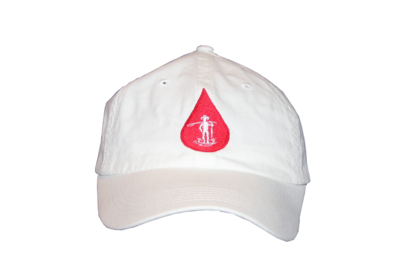 Country Boy Fishing (White / Red Logo)