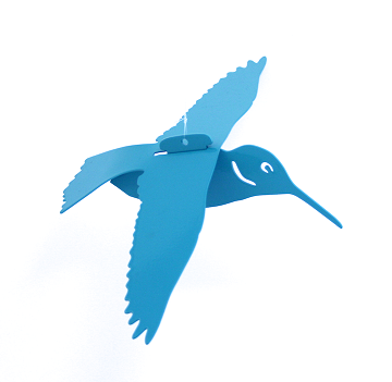 Turquoise Floating Hummingbird