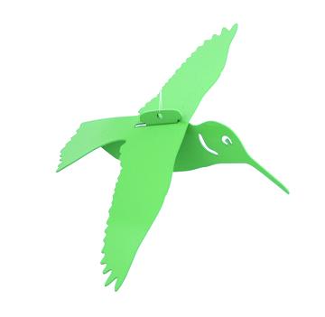 Kiwi Green Floating Hummingbird