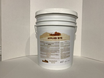 Applied Rite Basal Oil 5 Gallon Pail with Pour Spout.                         Basal Color Available