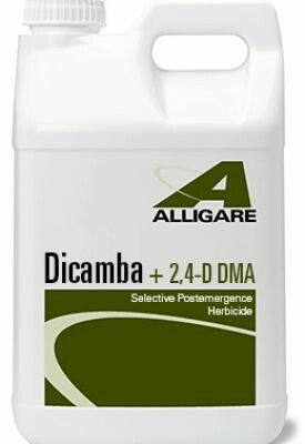 Dicamba + 2,4-D DMA Includes Shipping