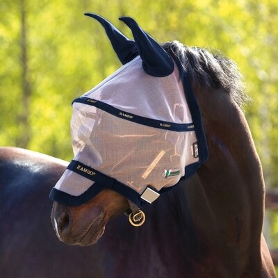 Fly Mask Rambo avec repulsif Vamoose by HORSEWARE