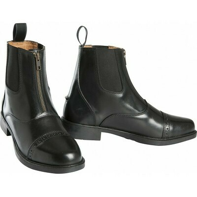 Boots Zip Cuir by EQUITHEME