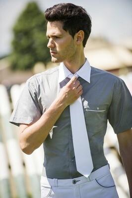 Cravate Trevira a Clip