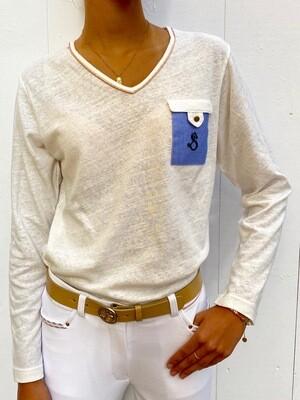T Shirt Tina Manches Longues by LE SABOTIER