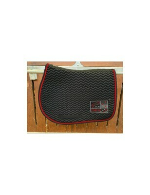Tapis Show One Noir / Rouge by JUMP'IN