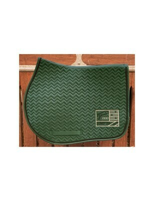 Tapis Show One Vert / Noir by JUMP'IN