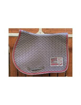 Tapis Show One Gris / Bordeaux by JUMP'IN