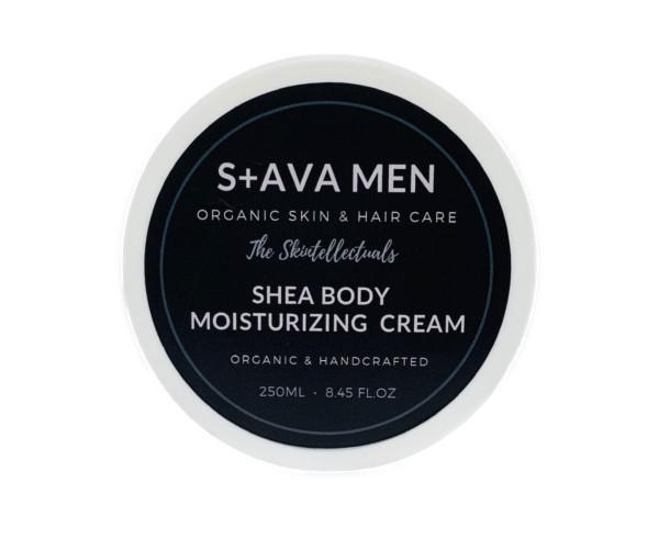 MENS ORGANIC SHEA BODY MOISTURIZING CREAM