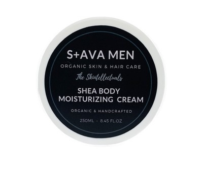 MENS ORGANIC SHEA BODY MOISTURIZING CREAM