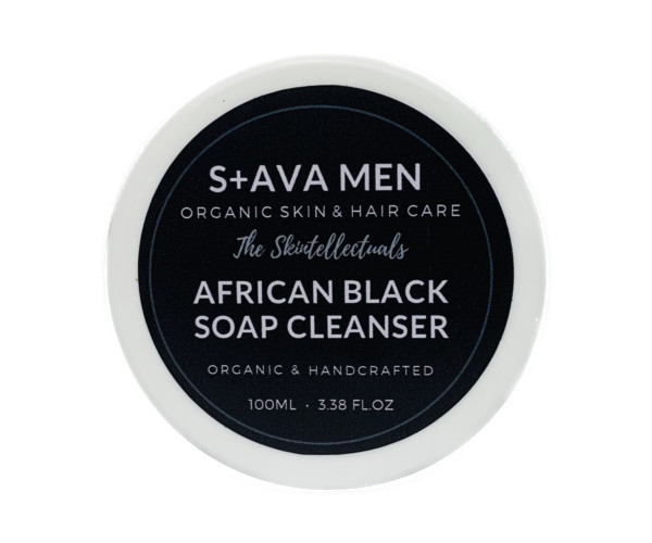 MENS AFRICAN BLACK SOAP FACE CLEANSER