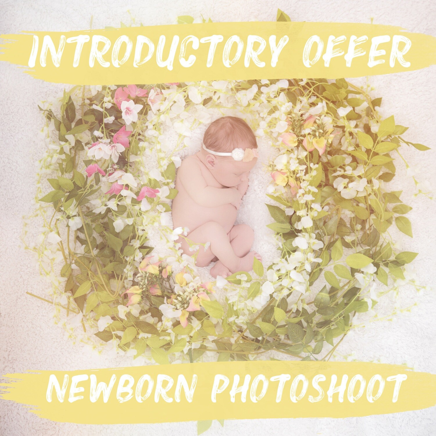 Newborn photoshoot & £50 gift voucher