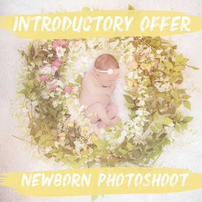 Newborn photoshoot with £50 gift voucher