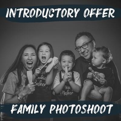 Family Photoshoot & £50 Gift Voucher
