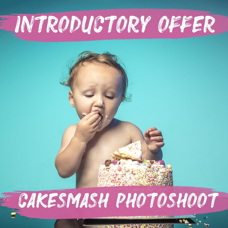 Cake Smash Photoshoot & £50 Gift Voucher