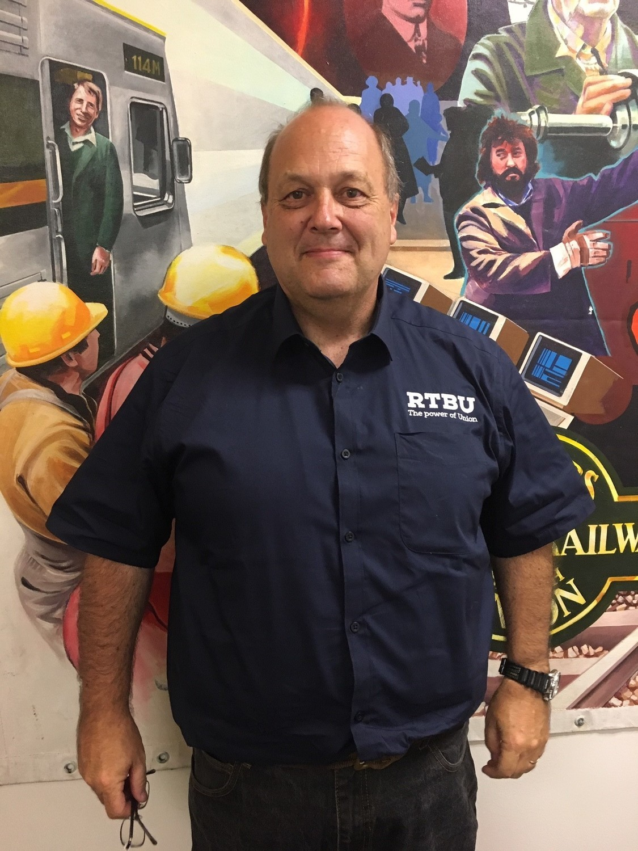 Men's Short Sleeve Business Shirt - Navy Blue
