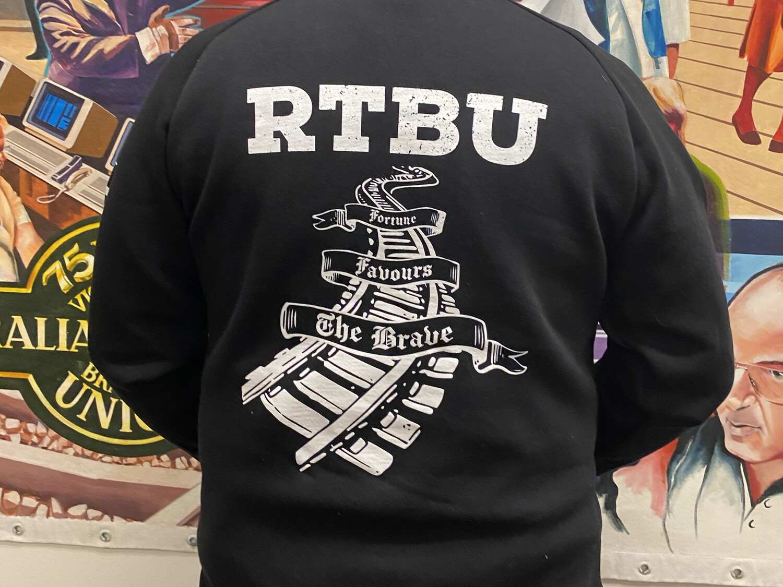 NEW Black RTBU Fortune Pullover Hoodie
