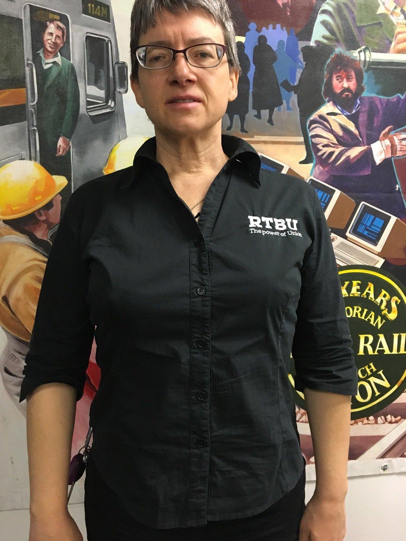 Women's Business Shirt - Black
