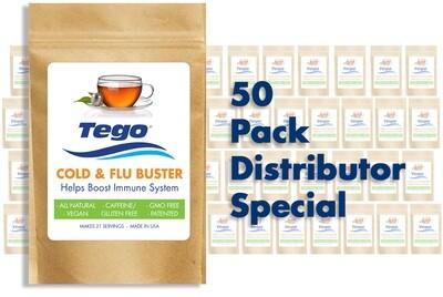 Tego Cold & Flu Buster 50 pack