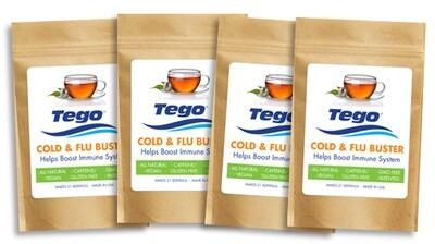 Tego Cold & Flu Buster 4 pack