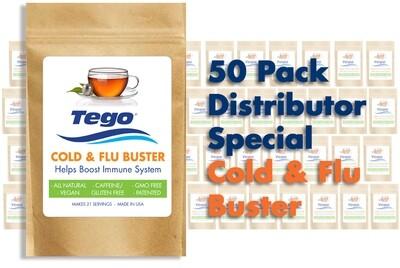 Tego Cold & Flu Buster Distributor Special - 50 Pack