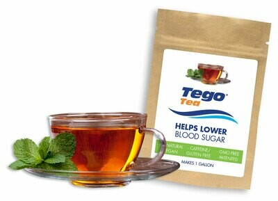 Tego Tea - Help Lower Blood Sugar - Single Gallon Pack.