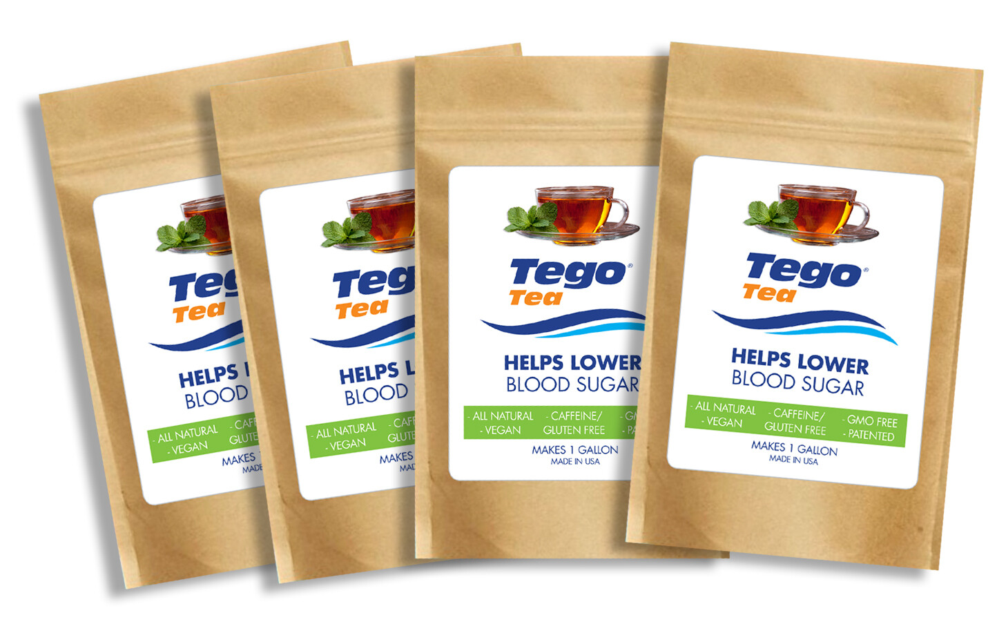 Tego Tea - Help Lower Blood Sugar  - 4 Pack - $25 each.