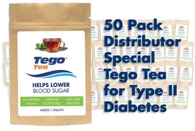 Tego Distributor - Help Lower Blood Sugar 50 Pack