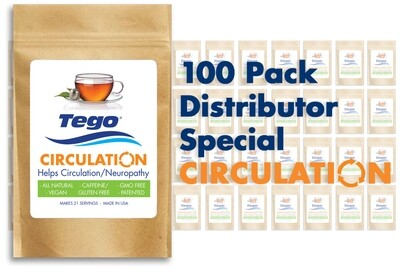 Tego Circulation / Neuropathy - 100 Pack