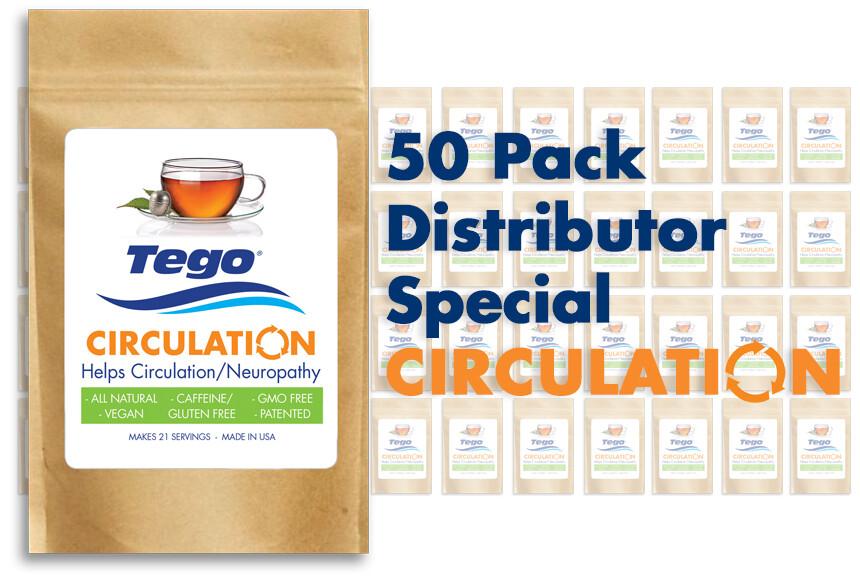 Tego Circulation / Neuropathy - 50 Pack