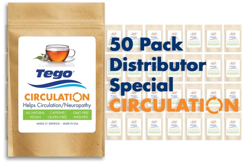 Tego Circulation / Neuropathy - 50 Pack