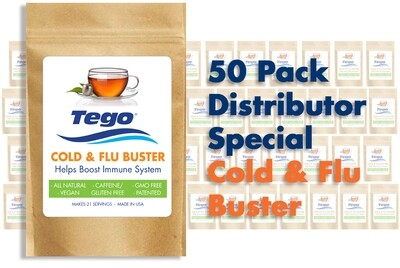 Cold & Flu Buster - 50 Pack