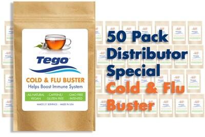 Tego Cold & Flu Buster - 50 Pack