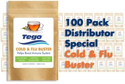 Tego Cold & Flu Buster - 100 Pack