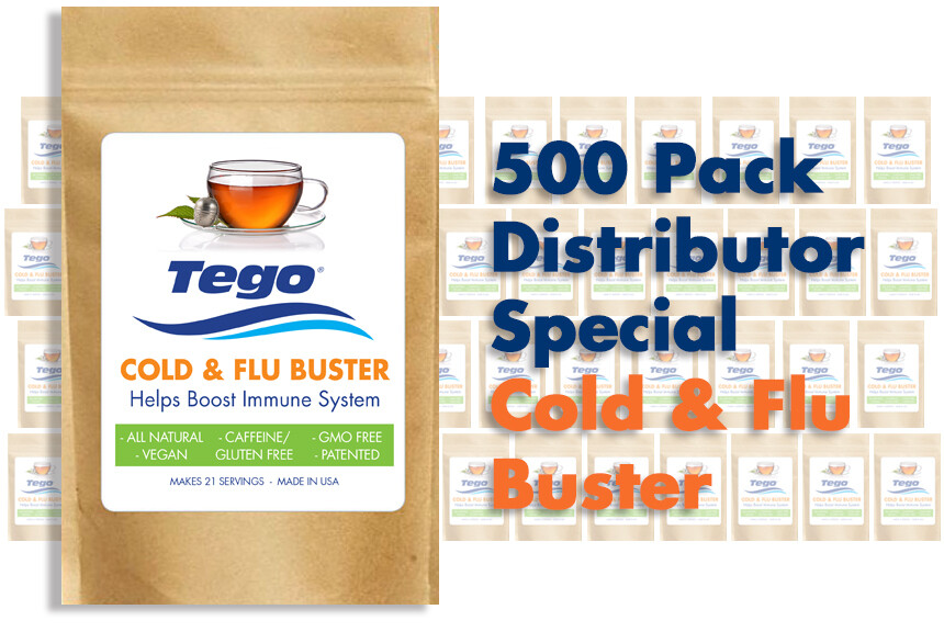 Cold & Flu Buster - 500 Pack