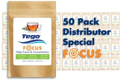 Tego Focus - 50 Pack