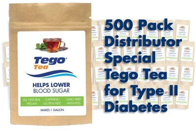 Tego Diabetes - 500 Pack