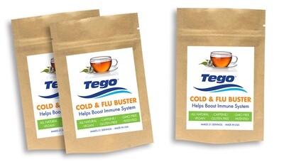 Tego Cold & Flu Buster - Buy 2 - Get 1 Free