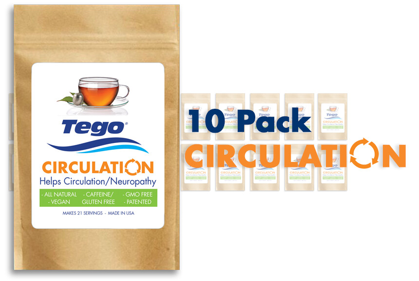 Tego Circulation / Neuropathy - 10 Pack