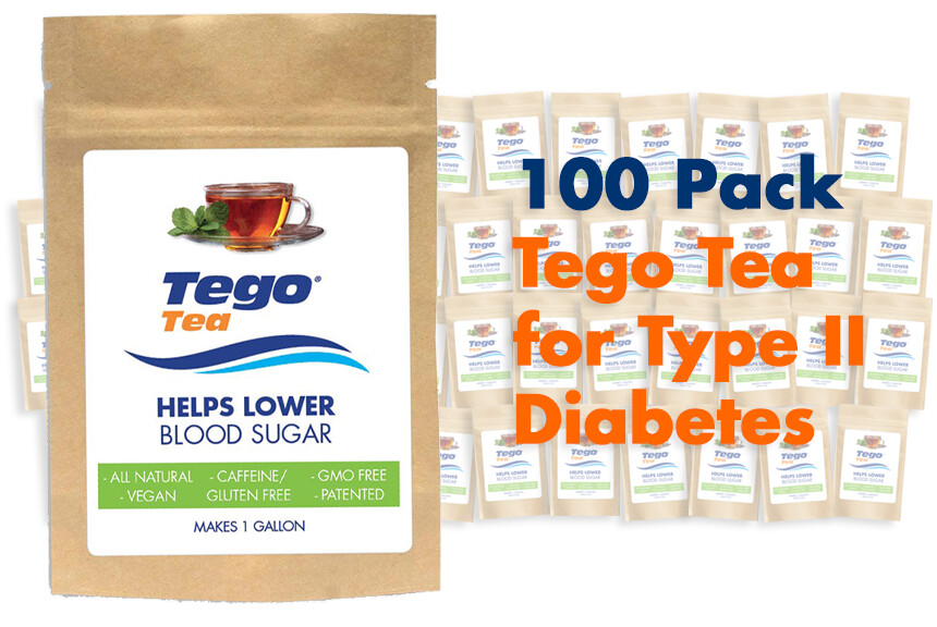 Tego Diabetes - 100 Pack