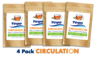 Tego Circulation / Neuropathy - 4 Pack