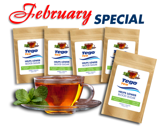 Buy 4 - Get 1 Free February Special