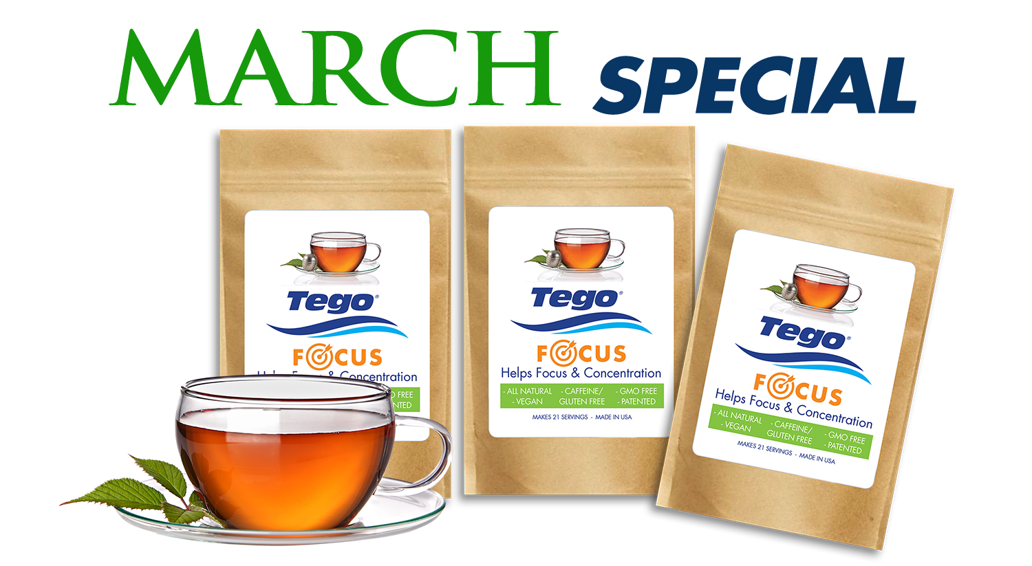 March Special - Focus - Buy 2 - Get 1 Free