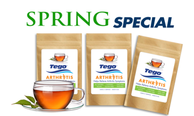 Spring Arthritis Special - Buy 2 - Get 1 Free — Time to Get Moving
