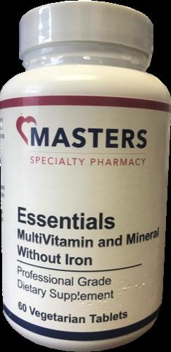 Essentials MultiVitamin & Mineral / No Iron