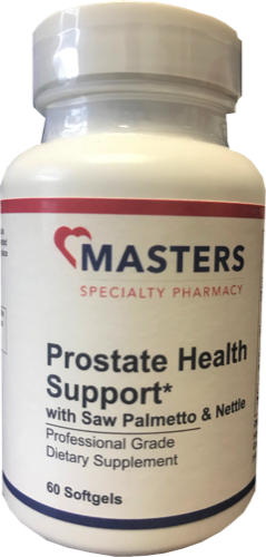 Prostate Health Support  With Saw Palmetto & Nettle