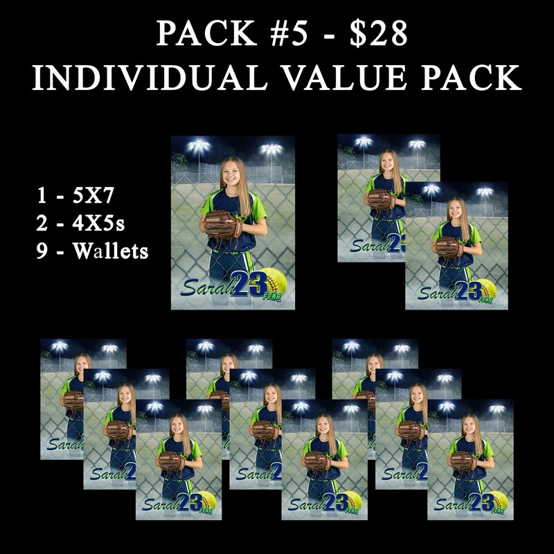 PACK #5 - Individual Photo Variety Pack