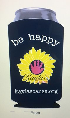 Be happy Koozie