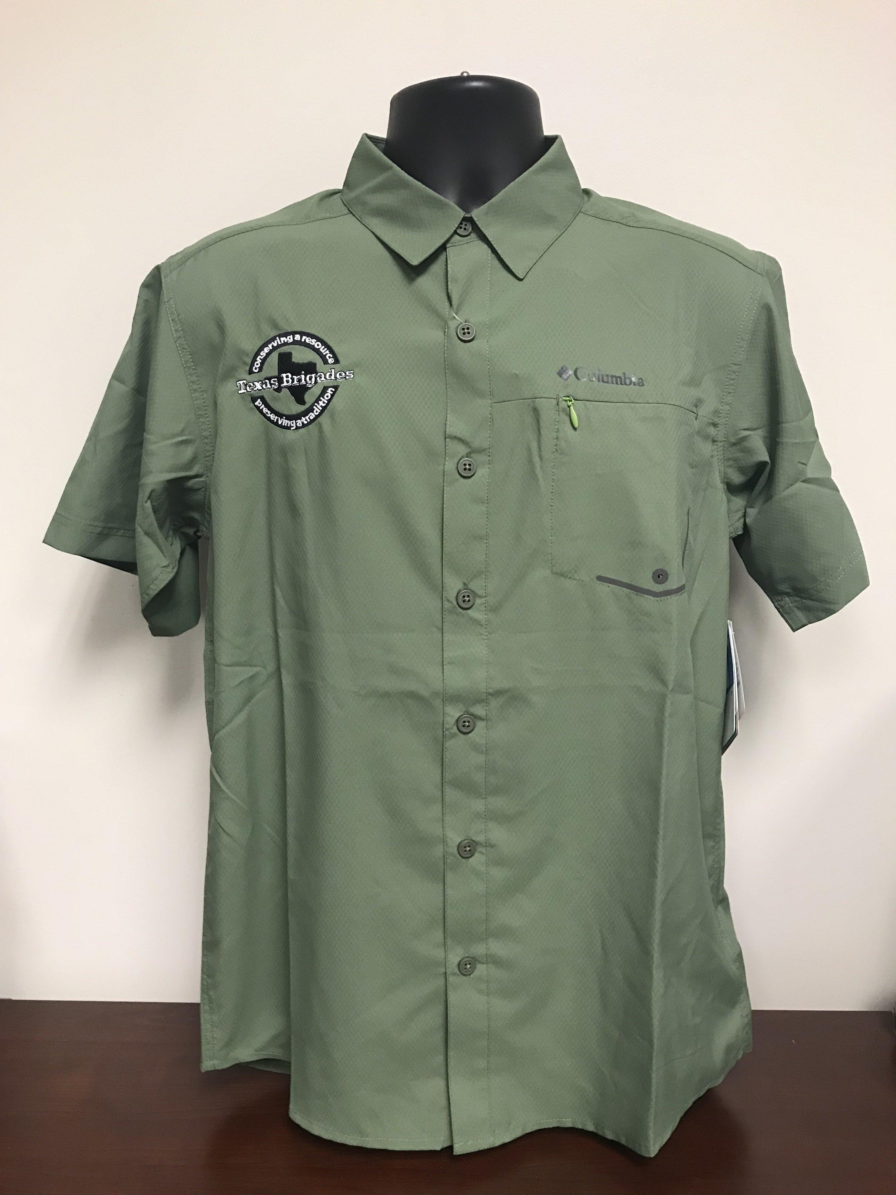 Men's Columbia Short Sleeve Shirt (LARGE) 00008