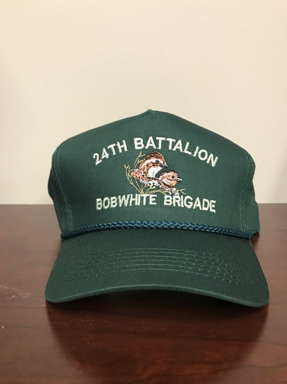 Rolling Plains Bobwhite Brigade 24th Battalion Captain's Hat